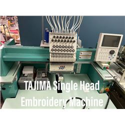 Tajima Sngle Head Embroidery machine