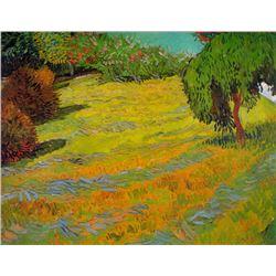 Van Gogh - Sunny Lawn