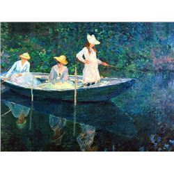Claude Monet - Women Fishing
