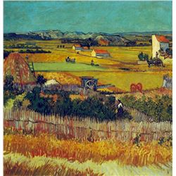 Van Gogh - The Harvest, Arles