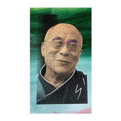 Dali Lama by Steve Kaufman (1960-2010)