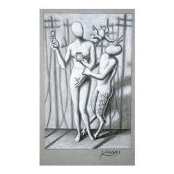 The Mythology Of Communication by Kostabi Original