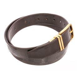 Louis Vuitton Dark Brown Damier Infini Reversible Boston Belt 100cm