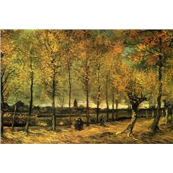 Van Gogh - Lane With Poplars