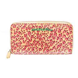 Louis Vuitton Monogram Vernis Leopard Zippy Wallet