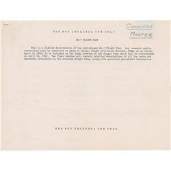 Scott Carpenter's Mercury-Atlas 7 Preliminary Flight Plan
