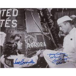 Scott Carpenter and Cece Bibby Signed Photograph