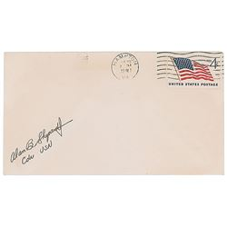 Alan Shepard Signed Cover