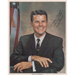 Charles Bassett Signed Photograph