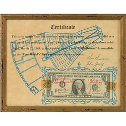 Gemini 3 Flown Dollar Bill