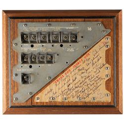 Apollo Engineering Team Multi-Signed Control Panel