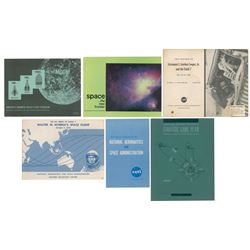 NASA Group of (6) Booklets