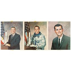Apollo 1 Signed Photographs