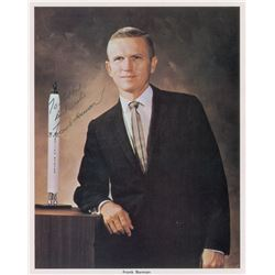 Frank Borman Signed Photograph