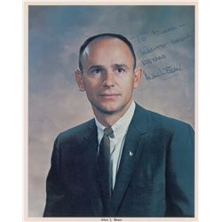 Alan Bean Signed Photograph