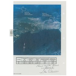 Apollo 10 Flown Earth Photo Map
