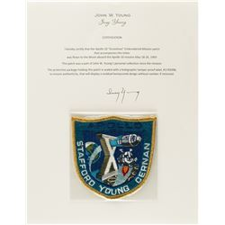 John Young's Apollo 10 Flown 'Grumman' Patch