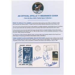 Buzz Aldrin's Apollo 11 'Type 2' Insurance Cover