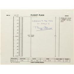 Buzz Aldrin's Apollo 11 Flown Flight Plan Page