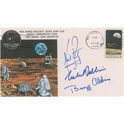 Apollo 11 Crew-Signed 'Type 1' Insurance Cover