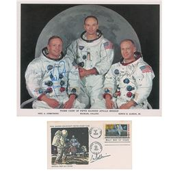 Apollo 11 Signed Photograph and FDC