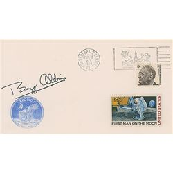 Buzz Aldrin Signed Cover