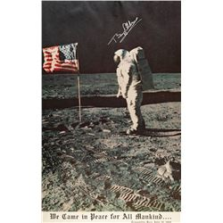 Buzz Aldrin Signed Poster