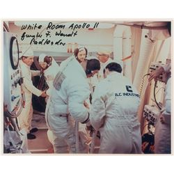 Guenter Wendt��s Apollo 11 Crew-Presented Patch