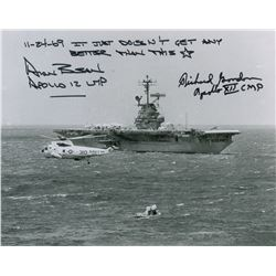 Apollo 12: Bean and Gordon Signed Photograph