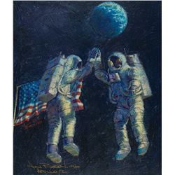 Alan Bean Signed Giclee