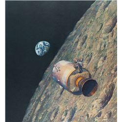 Alan Bean Signed Lithograph
