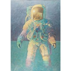Alan Bean Signed Print