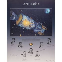 Apollo 13 Signed Print