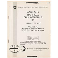 Apollo 14 Technical Crew Debriefing