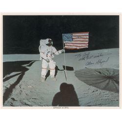 Alan Shepard Signed Photograph