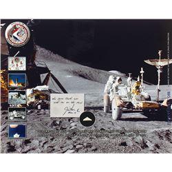 Apollo 15 Beta Cloth Swatch [Purportedly Lunar Flown]