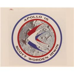 Apollo 15 Original 'Type 1' Photograph