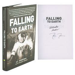 Al Worden Signed Book and Insert