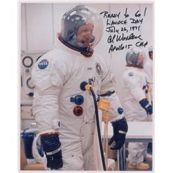 Al Worden Signed Photograph