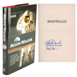 Charlie Duke Signed Book