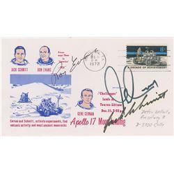Apollo 17 Signed Cover