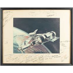 Astronauts Signed Photograph