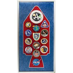 Apollo Program Patch Display