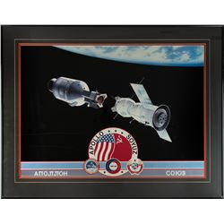 Apollo-Soyuz Signed Print