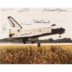 Challenger: Rogers Commission Signed Photograph