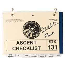 STS-131 Flown Ascent Checklist