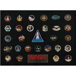 Space Shuttle Pin Display
