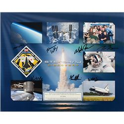 STS-124 Flown Patch Display