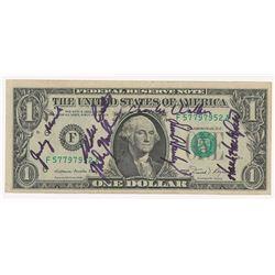 STS-41-D Signed Dollar Bill