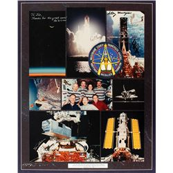 STS-61 Flown Patch Display